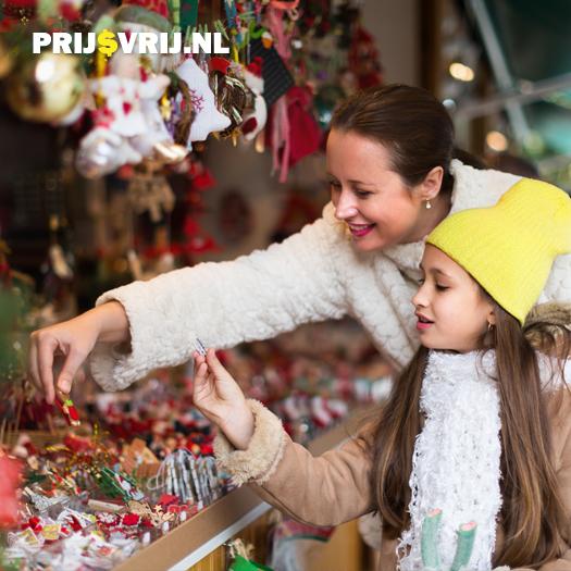 Kerstinkopen doen op de kerstmarkt