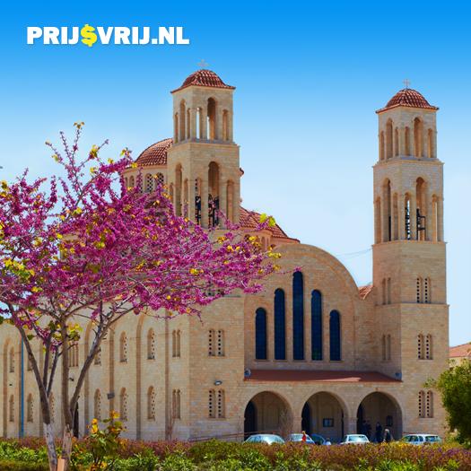 Vakantie Cyprus - Kerk in Paphos