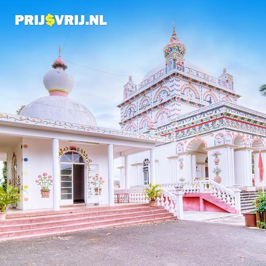 Vakantie Mauritius - Maheswarnath tempel in Triolet