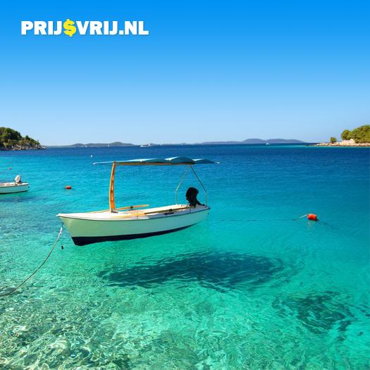 Het heldere water van Kroatië