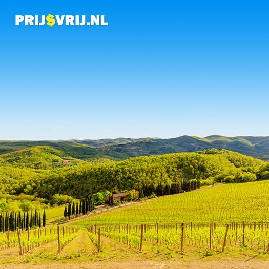 Culinaire bestemmingen - wijnvelden in Italië