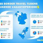Nederlanders vliegen vanaf Duitsland in meivakantie