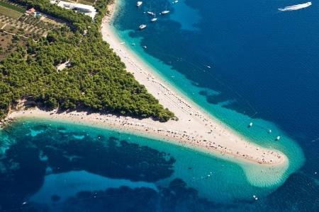 Zlatni Rat Kroatië - mooiste stranden van Europa
