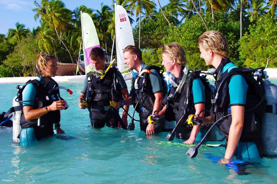 Vakantie Malediven - Duik instructie