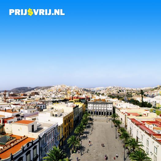 Las Palmas, hoofdstad van Gran Canaria