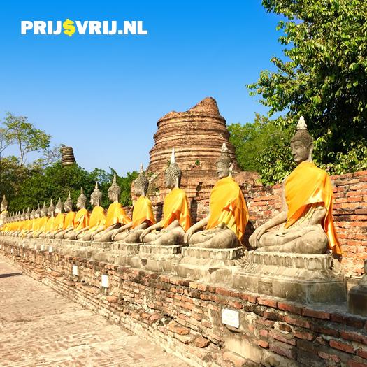 Ayutthaya - Vakantie Thailand met het gezin