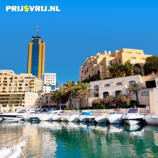 Vakantie Malta - St. Julians Bay