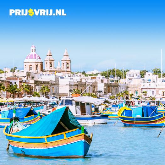 Vakantie Malta - Marsaxlokk