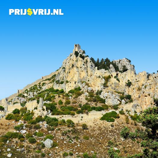 Vakantie Cyprus - Ruïnes van Saint Hilarion Kasteel
