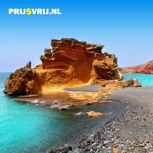 Het landschap van Lanzarote