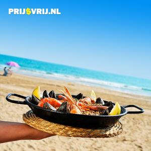 Paella op het strand