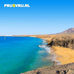 De kustlijn van Lanzarote