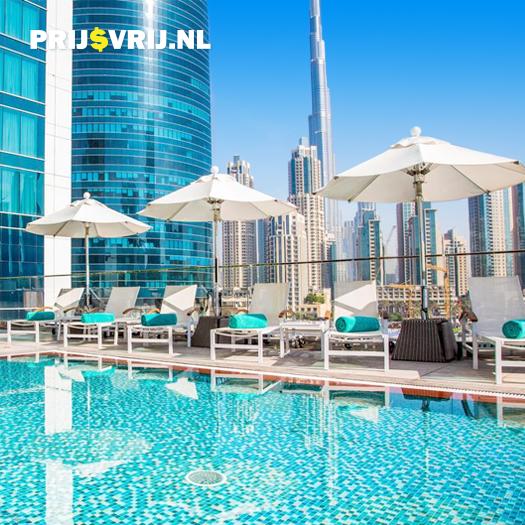 Uitzicht bij Steigenberger Dubai, Dubai - Verenigde Arabische Emiraten