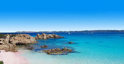 Mooiste stranden - Spiaggia Rosa