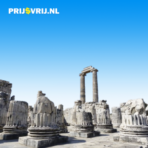 Egeïsche kust, ruïnes