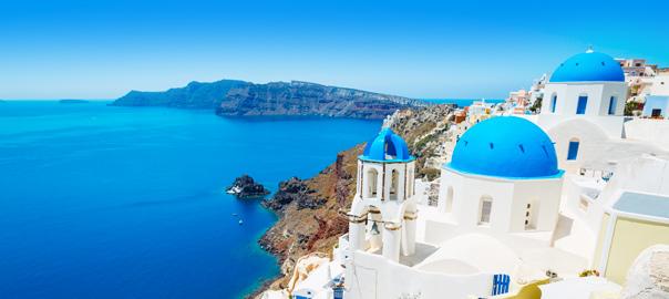 Prachtige kustlijn Griekenland