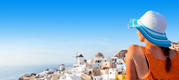 Uitzicht Santorini
