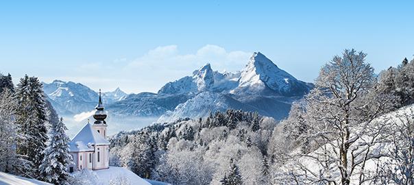 wintersport gebied Duitsland