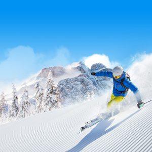 skiën van de pistes