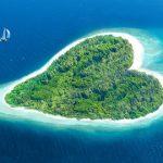 Prachtige, hartvormige eilanden en meren. Ben jij al verliefd?