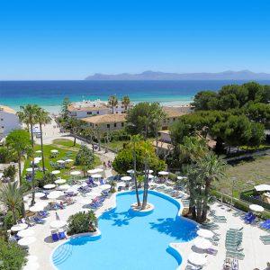 Zwembad Allsun Eden Alcudia hotel Mallorca