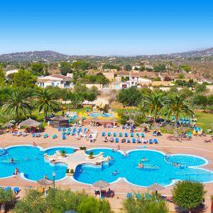 Zwembad Allsun Mariant Park hotel Mallorca