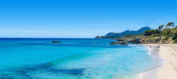 Oceaan en prachtig strand Mallorca