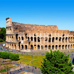 Het Colosseum in Rome, Italië