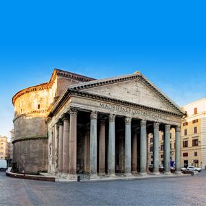 Het Pantheon in Rome, Italië