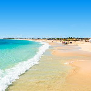 Sal Kaapverdië Santa Maria strand