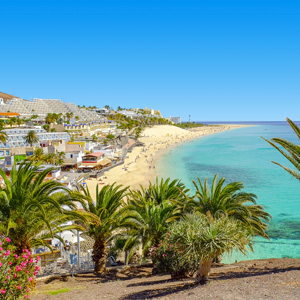 Playa del Matorral in Morro Jable Fuerteventura