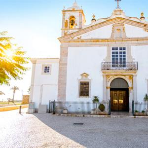 Santa Maria kerk Lagos, Portugal