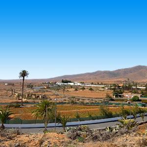 Uitzicht vanuit Antigua Fuerteventura