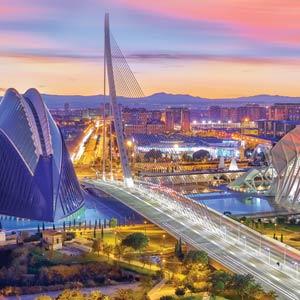 Uitzicht-Valencia