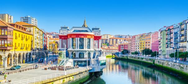 Ribera market in Bilbao, Spanje