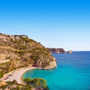 Strand bij La Granadella - Alicante