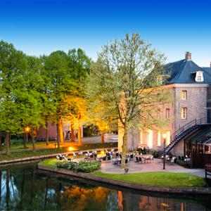 Exterieur en terras Bilderberg Chateau Holtmuhle